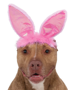 Pink Bunny Ears for Pets