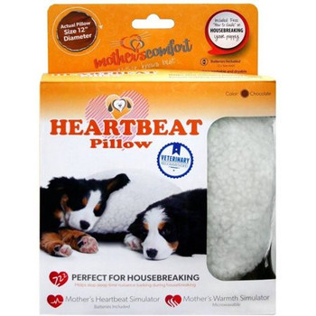 Mother's Comfort Heartbeat Pillow for Puppies
