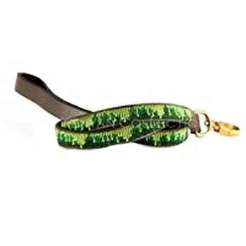 Rainforest African Beaded Dog Leash
