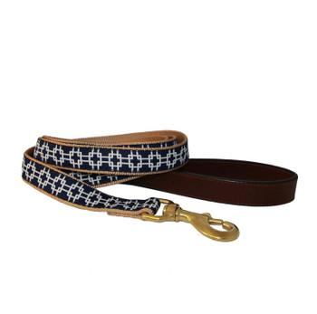 American Traditions Dog Collar - Grid Lock