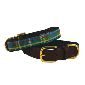 American Traditions Dog Collar - Kendall Plaid
