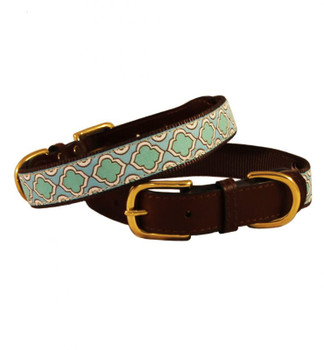 American Traditions Dog Collar - Sea Glass