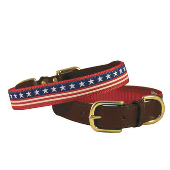 American Traditions Dog Collar - Stars & Stripes