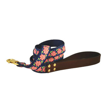 American Traditions Dog Collar - Pink Garden