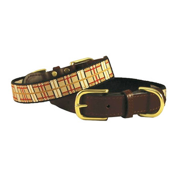American Traditions Dog Collar - Up Country Plaid