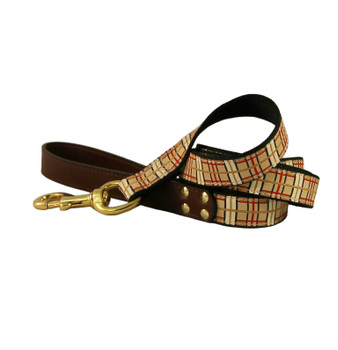 American Traditions Dog Leash - Up Country Plaid