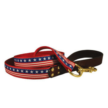 American Traditions Dog Leash - Stars & Stripes
