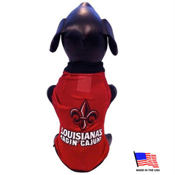 UL Lafayette Athletic Mesh Pet Jersey