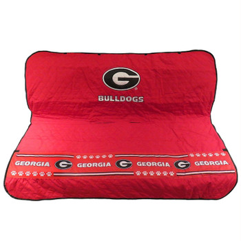 Georgia Bulldogs Pet Car Seat Cover