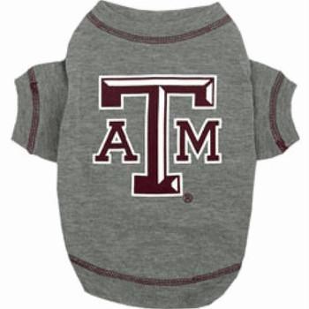 Texas A&M Aggies Dog Tee Shirt