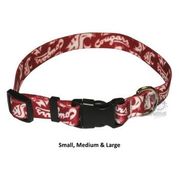 Washington State Cougars Nylon Collar