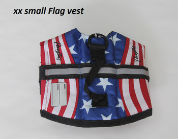 American Flag Pet Life Jacket Vest