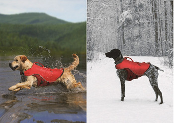Surf n Turf Pet Life Jacket | Winter Dog Coat