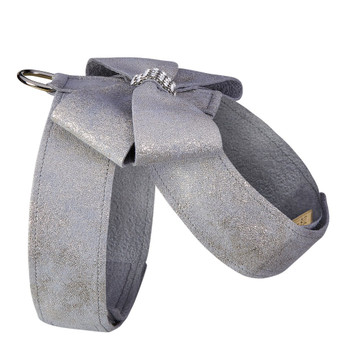 Platinum Glitzerati Nouveau Bow Tinkie Dog Harness