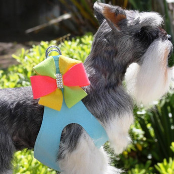 Angela Bow Dog Step In Harness