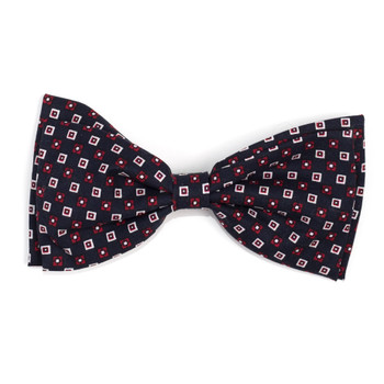 Foulard Navy Pet Dog Bow Tie