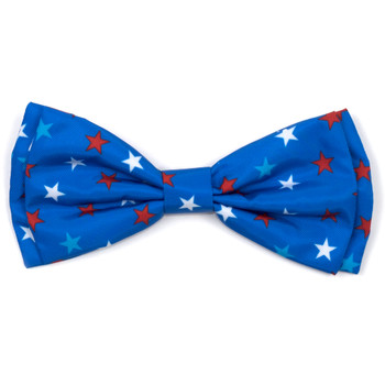 Patriotic Stars Pet Dog Bow Tie