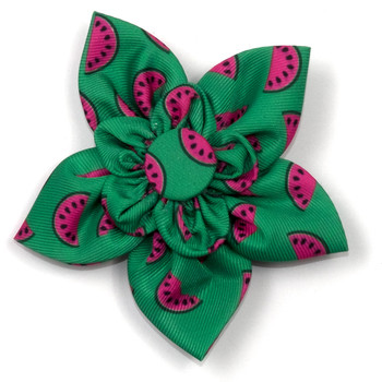Watermelon Pet Dog Collar Flower