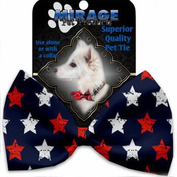 Graffiti Stars Pet Dog Bow Tie