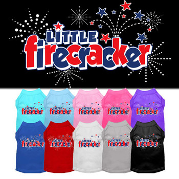 Little Firecracker Dog Tank