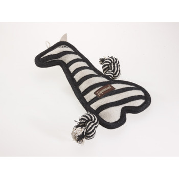 Zebra Naturals Tuff Mutts Dog Toy
