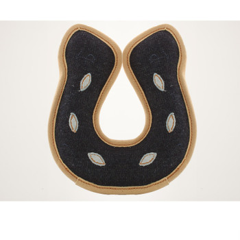 Denim Tuffs Horse Shoe Dog Toy