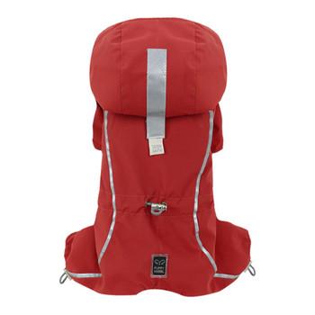 Urban Outdoor Dog Bodysuit /Raincoat -Bionne 2 -Red