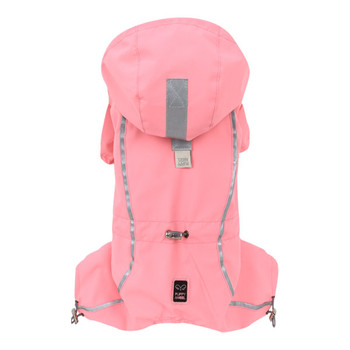Urban Outdoor Dog Bodysuit /Raincoat -Bionne 2 - Pink