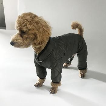Mac Calgary Padded Dog Overalls / Bodysuit - Green