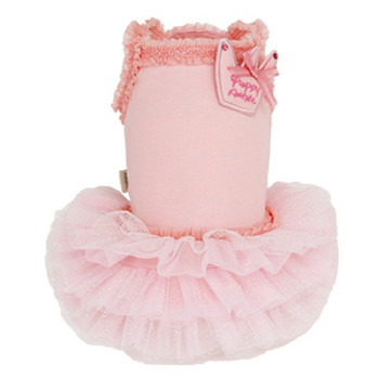 Puppy Angel Royal Ballet Dog Tutu Dress - Pink