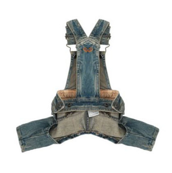 Puppy Angel Denim Vintage Washed Overalls