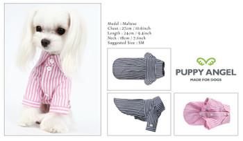 Puppy Angel My Baby Dog Shirts - Dark Pink