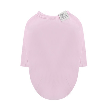Puppy Angel Daily Long Sleeve Dog T-shirts - Lt Pink