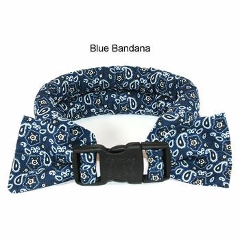 Too Cool Cooling Dog Collars - Blue Bandana