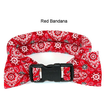 Too Cool Cooling Dog Collars -Red Bandana