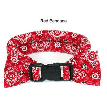 Too Cool Cooling Dog Collars -Red Bandana