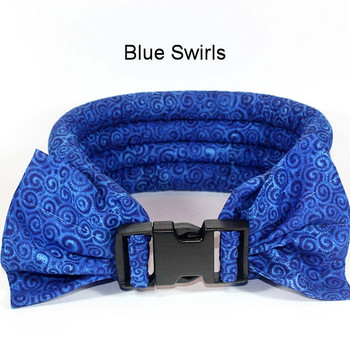 Too Cool Cooling Dog Collars -Blue Swirls