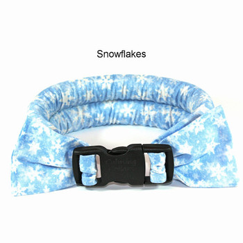 Too Cool Cooling Dog Collars - Snowflakes