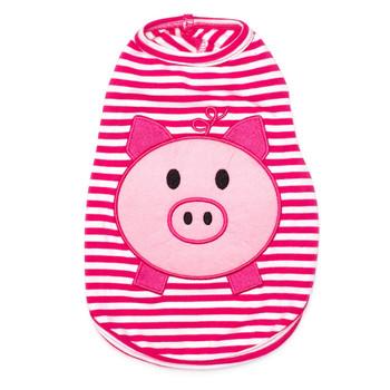 Wilbur Pig Pink Pet Dog T-Shirt - Small - Big Dog