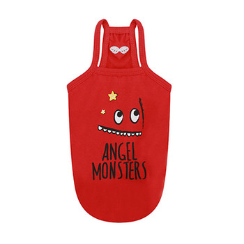 Monsters Spaghetti Strap Top - Red