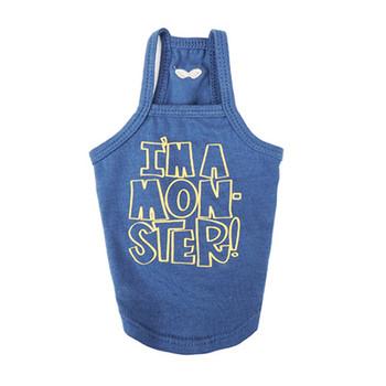 I'm A Monster Spaghetti Strap Top - Blue