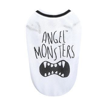 Angel Monsters Mesh Sleeveless Tank - White