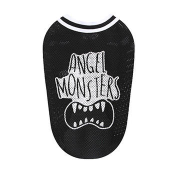 Angel Monsters Mesh Sleeveless Tank - Black