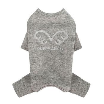 Puppy Angel Signature Bodysuit / Pajamas - Gray