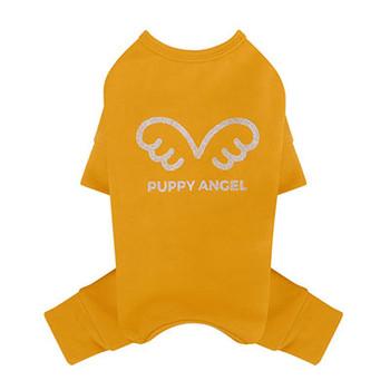 Puppy Angel Signature Bodysuit / Pajamas - Yellow