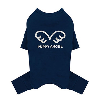 Puppy Angel Signature Bodysuit / Pajamas - Navy Blue