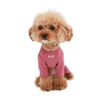 Puppy Angel Signature Bodysuit / Pajamas - Rose