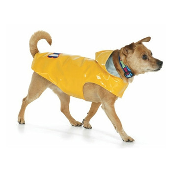 Bone Yellow Nantucket Dog Slicker Raincoat