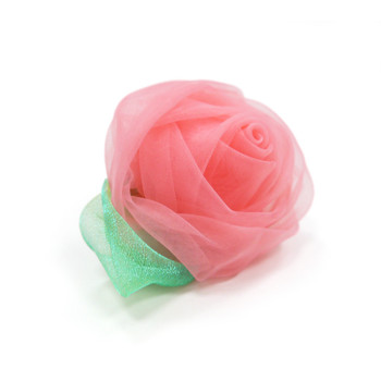 EasyBOW Rose Dog Collar Flowers - Pink