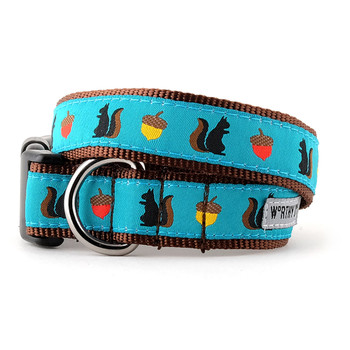 Squirrelly Pet Dog & Cat Collar & Optional Lead Collection